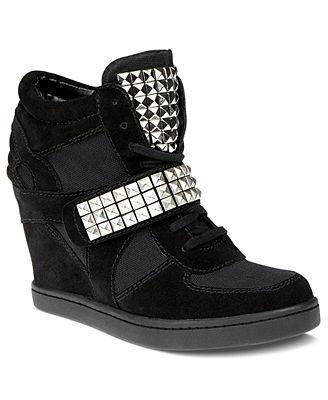 steve madden s hamlit wedge sneakers shoes macy s