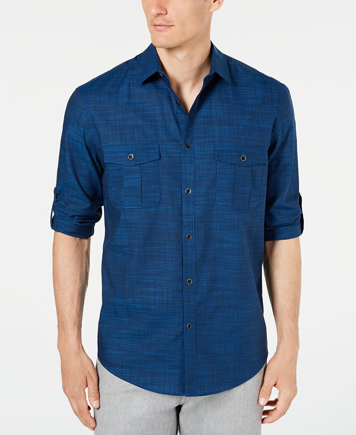 Alfani - Long-Sleeve Warren Shirt