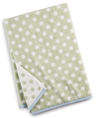 "30"" x 54"" Cotton Dot Spa Fashion Bath Towel, Created for Macy's"