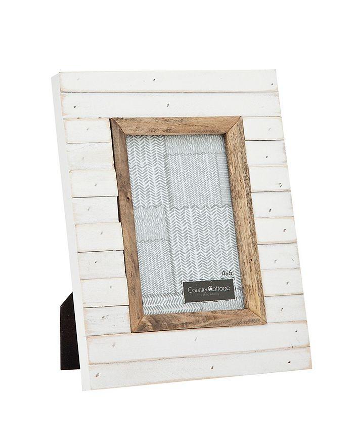 Philip Whitney - 4x6 Slatted White