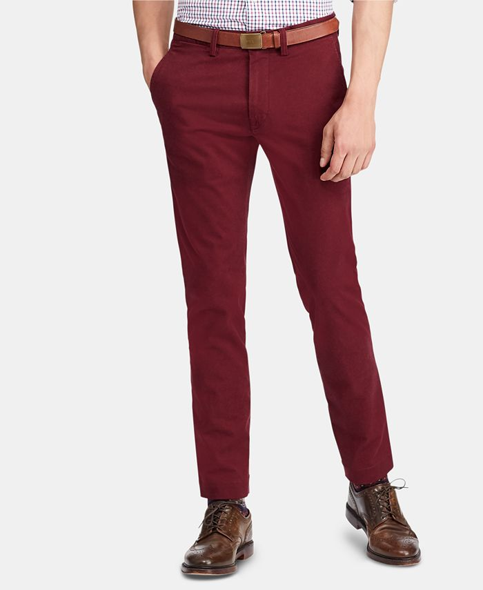Polo Ralph Lauren - Men's Stretch Slim-Fit Chino Pants