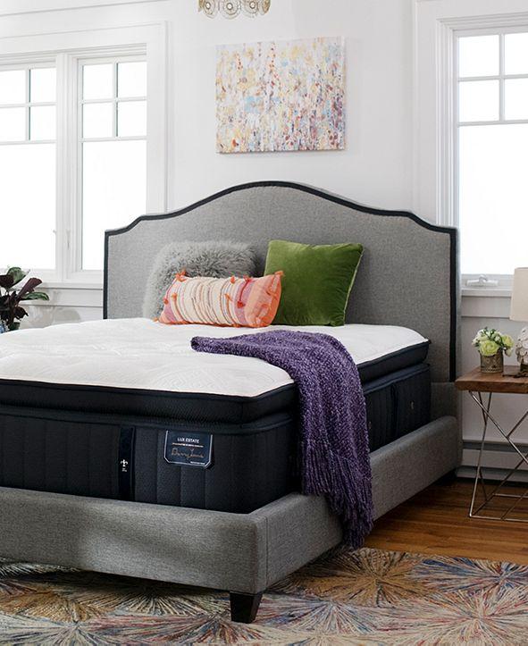 """Stearns & Foster Estate Cassatt 15"""" Luxury Firm Euro Pillow Top Mattress - King"""