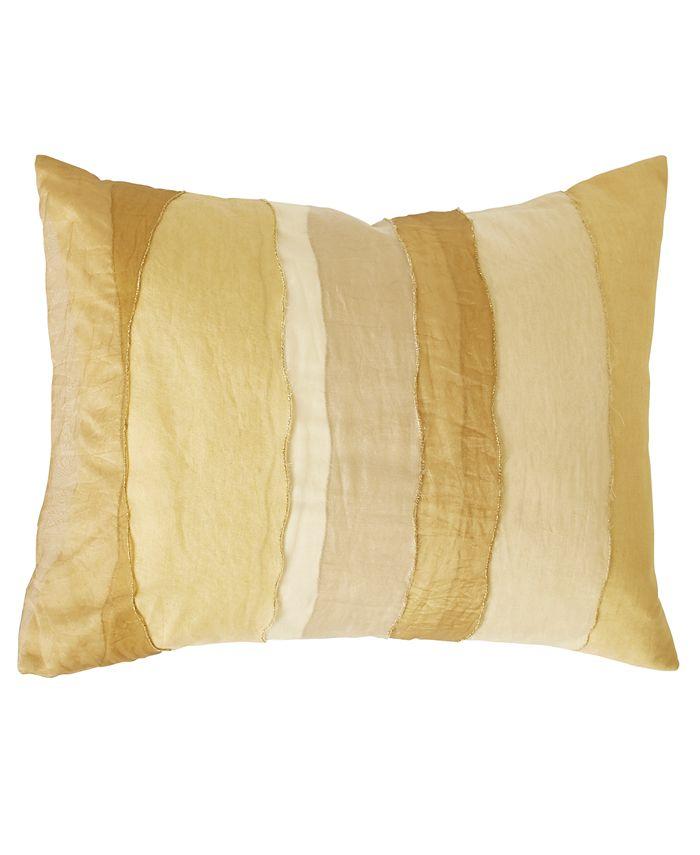 Donna Karan - Collection Gilded 16X20 Sheer Layered Decorative in Gold
