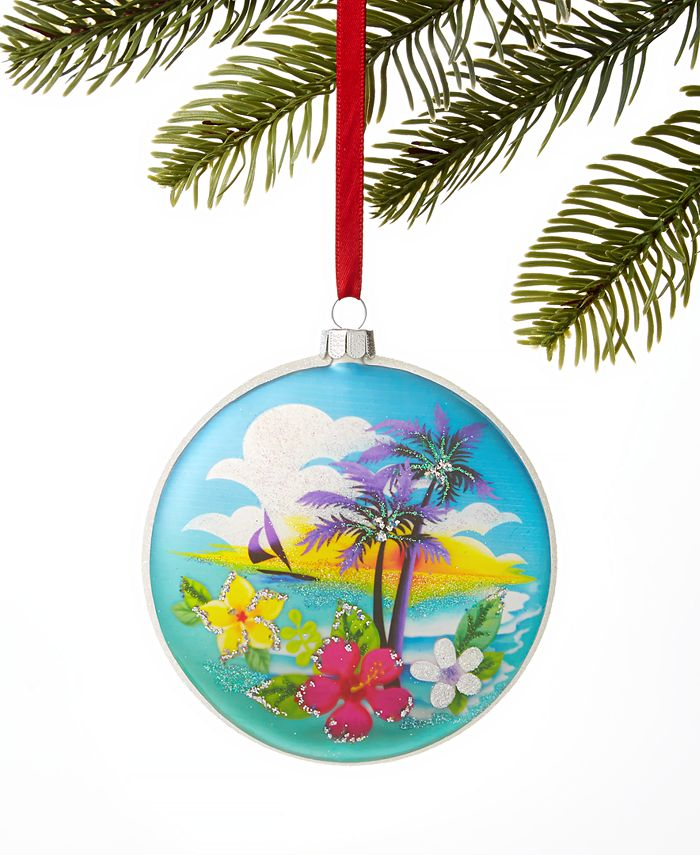 Holiday Lane - Hawaii Mele Kalikimaka 2019 Ornament