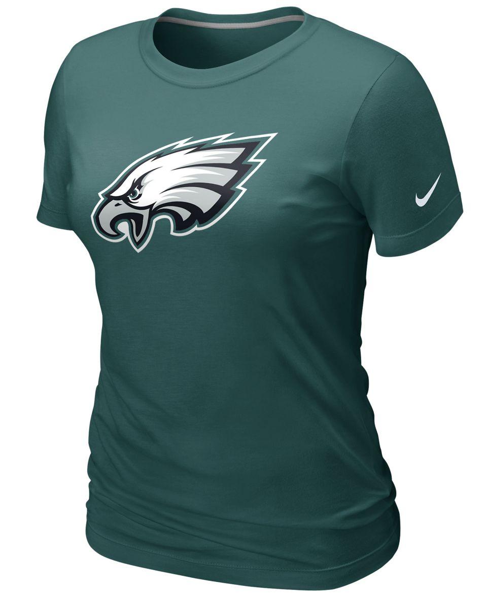 Nike nfl womens t shirt philadelphia eagles touchdown for Eagles football t shirts