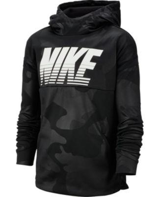 Nike Big Boys Therma Dri-FIT Camo-Print