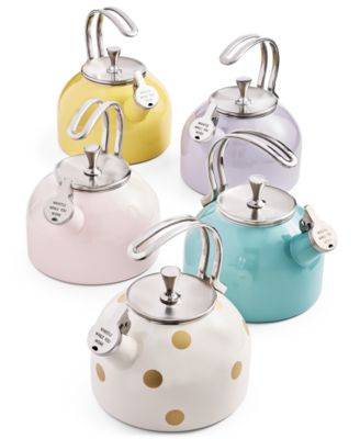 new york all in good taste Deco Dot Tea Kettle
