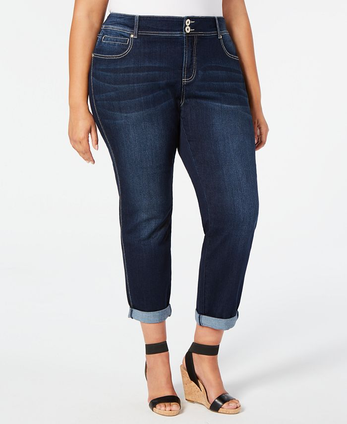 INC International Concepts - Plus Size Straight-Leg Jeans