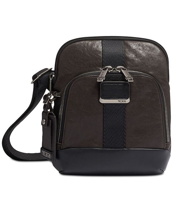 TUMI Men's Alpha Bravo Barksdale Crossbody Bag