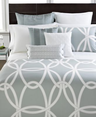 Hotel Collection Modern Rib Matelasse King Coverlet
