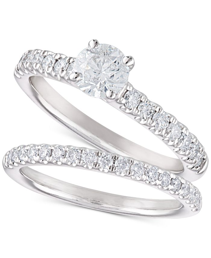 Macy's - Diamond Bridal Set (1-1/5 ct. t.w.) in 14k White Gold
