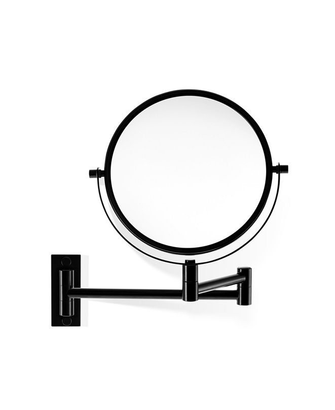 WS Bath Collections Wall Mounted double sided Magnifying Mirror in Polished Chrome
