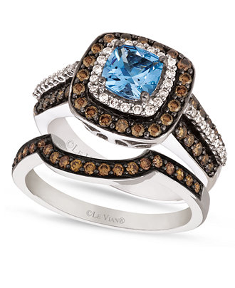 Le Vian Chocolate Diamond Stackable Rings
