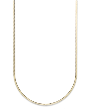 Giani Bernini 24k Gold over Sterling Silver Necklace, Thin Snake Chain Necklace