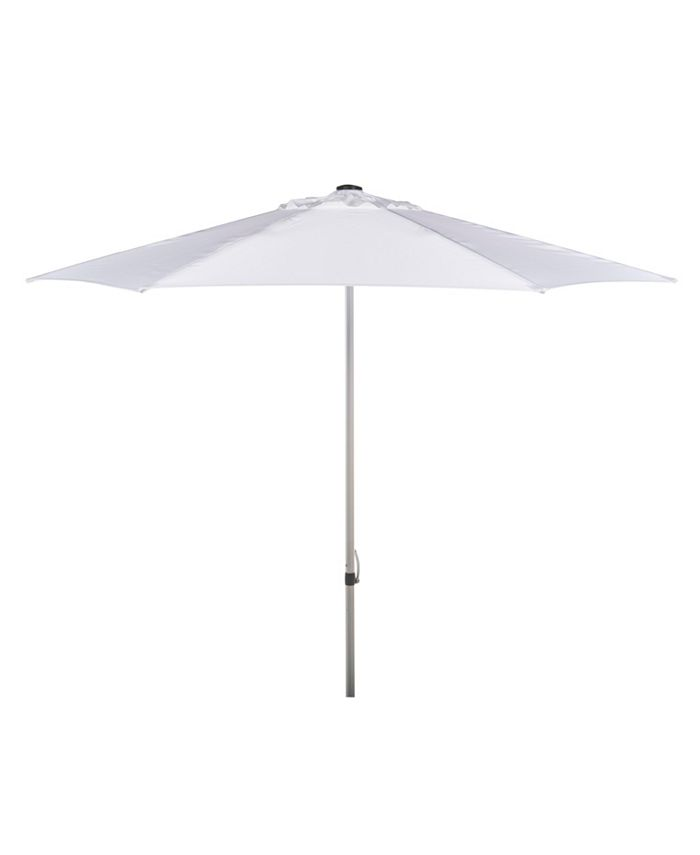 Safavieh - Hurst 9' Push Up Umbrella, Quick Ship