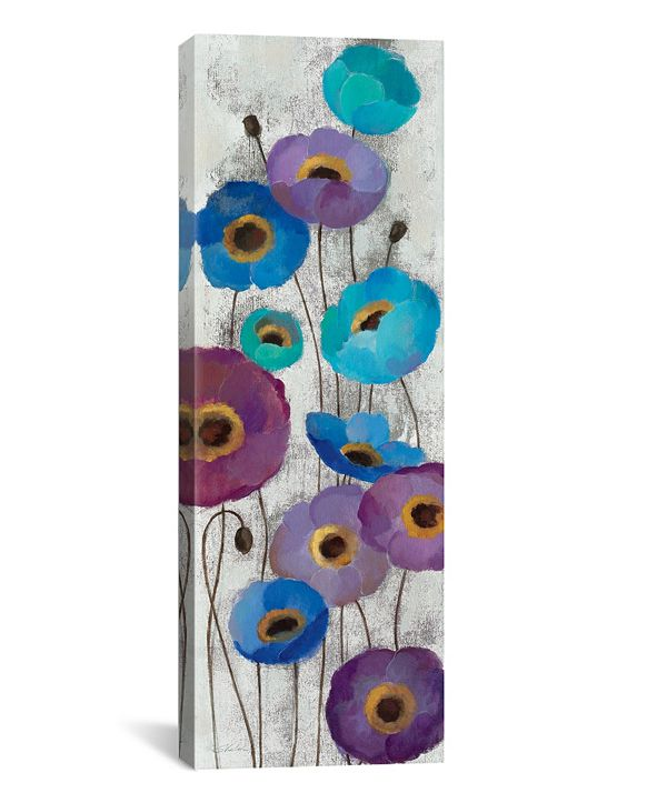 iCanvas Bold Anemones Panel Ii by Silvia Vassileva Gallery-Wrapped Canvas Print Collection