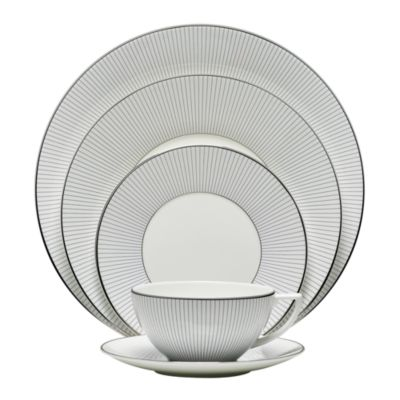 Jasper Conran Pin Stripe 5 Piece Place Setting