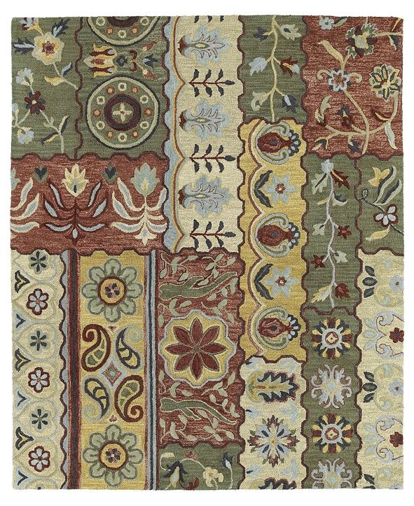 "Kaleen Brooklyn Lizbeth-00 Gold 5' x 7'6"" Area Rug"