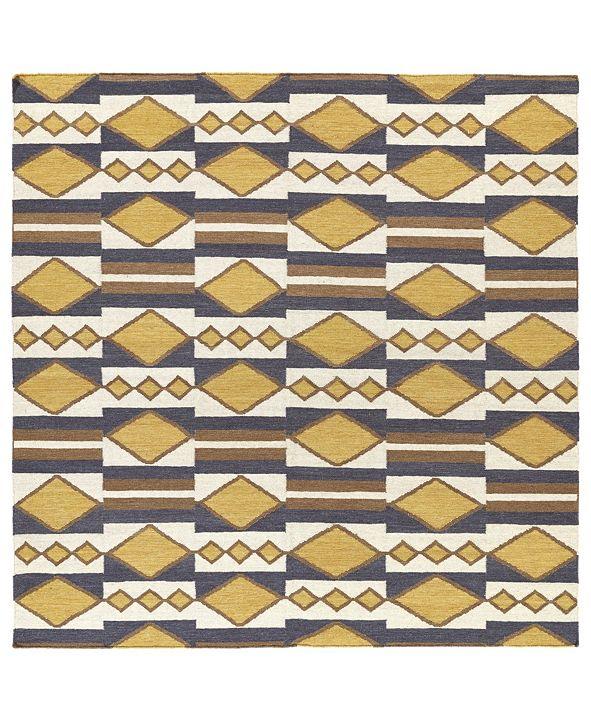 Kaleen Nomad NOM07-05 Gold 8' Square