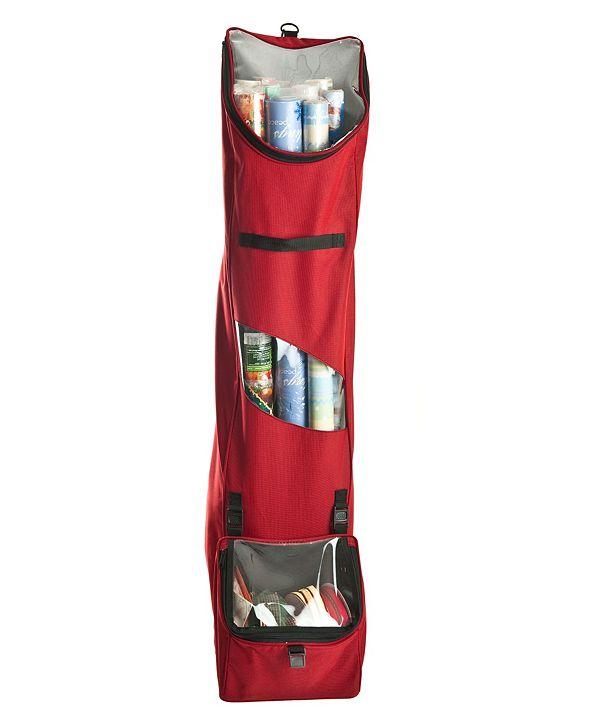 Santa's Bag Hanging Wrapping Paper Storage Bag