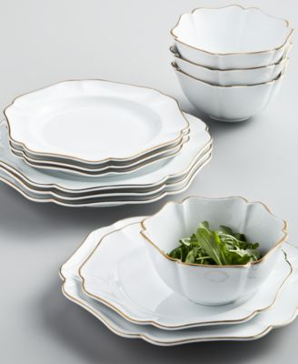 Baroque 12-Pc. Dinnerware Set, Service for 4, Created for Macy's