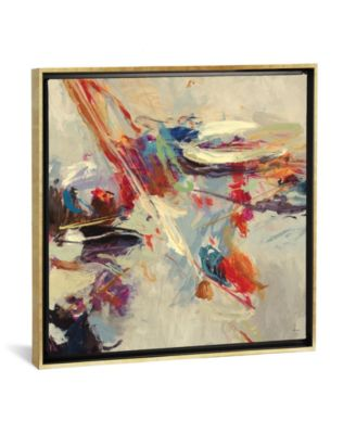"""Positive Energy I by Randy Hibberd Gallery-Wrapped Canvas Print - 18"""" x 18"""" x 0.75"""""""