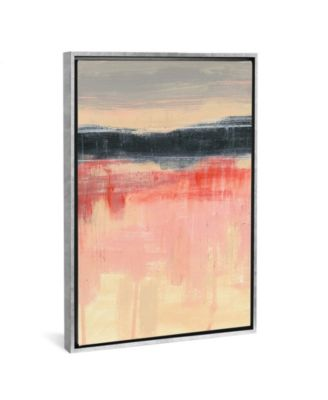 "Paynes Horizon Ii by Jennifer Goldberger Gallery-Wrapped Canvas Print - 26"" x 18"" x 0.75"""