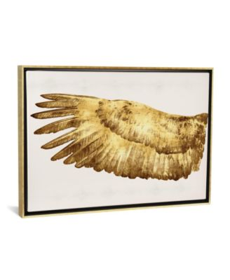 """Golden Wing I by Kate Bennett Gallery-Wrapped Canvas Print - 26"""" x 40"""" x 0.75"""""""