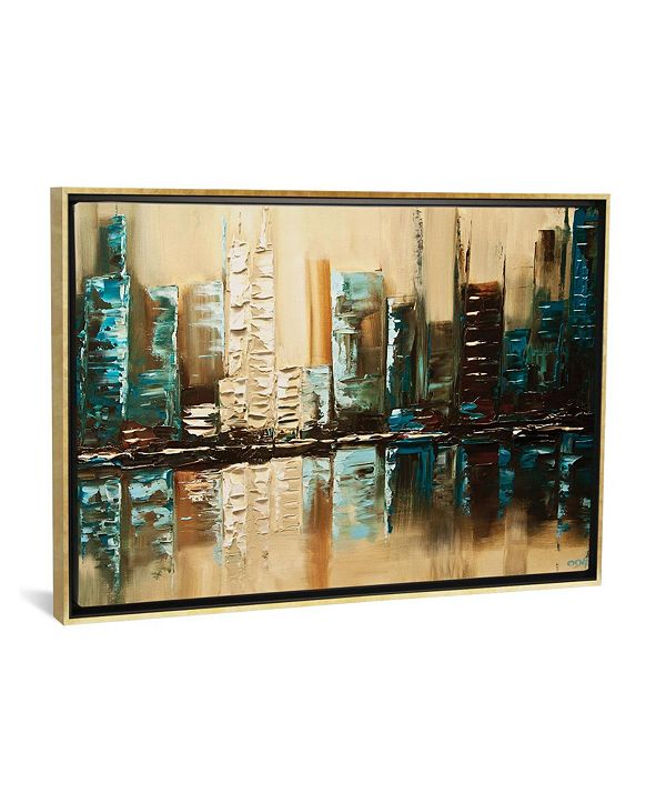 """iCanvas City of Helios by Osnat Tzadok Gallery-Wrapped Canvas Print - 18"""" x 26"""" x 0.75"""""""