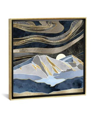 """Metallic Sky by Spacefrog Designs Gallery-Wrapped Canvas Print - 37"""" x 37"""" x 0.75"""""""