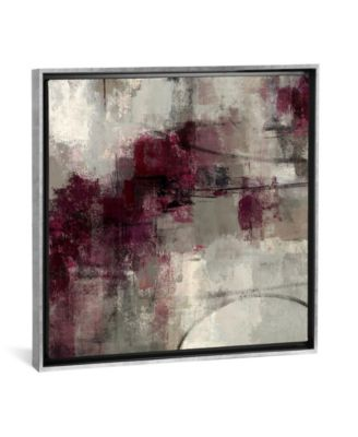 "Stone Gardens Ii by Silvia Vassileva Gallery-Wrapped Canvas Print - 18"" x 18"" x 0.75"""