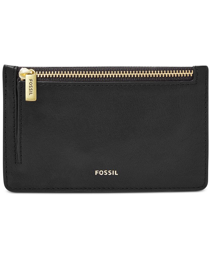Fossil - Logan Leather Zip Coin Wallet