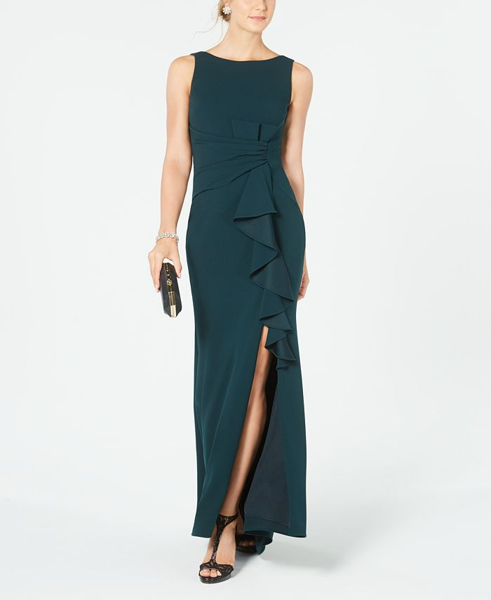 Betsy & Adam - Ruffle-Detail Gown