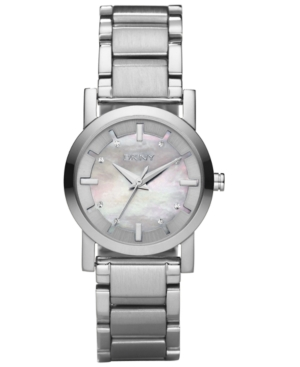 DKNY Watch, Womens Stainless Steel Bracelet NY4519