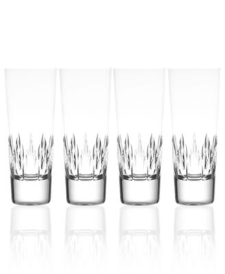 Set of 4 Vera Wang Wedgwood Duchesse Highball Glasses