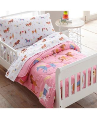 Horses 4 Pc Bed in a Bag - Toddler