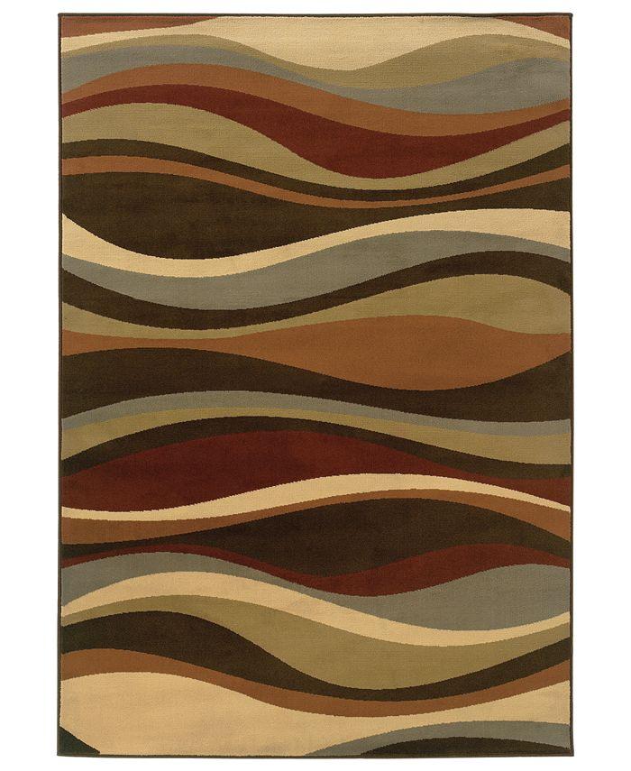 """Oriental Weavers - Area Rug, Pember 4442N Rhythm 5'3"""" x 7'3"""""""