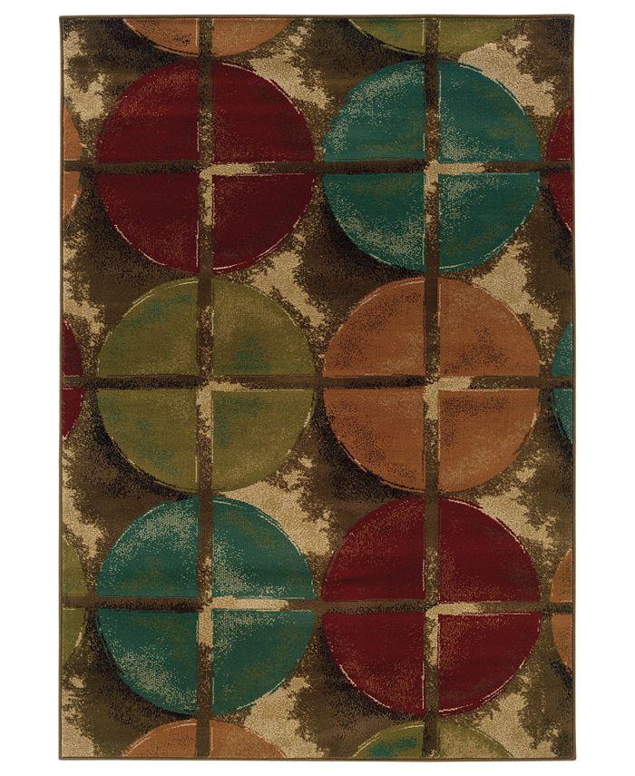 "Oriental Weavers - Area Rug, Gramercy 3680B Perimeter 1'10"" x 3'3"""