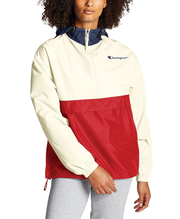 Champion - Packable Colorblocked Hooded Jacket