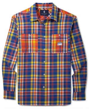 Rocawear Long Sleeve Shirt Everest Plaid