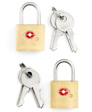 Samsonite Travel Sentry Set of 2 Tsa Friendly Luggage Key Locks