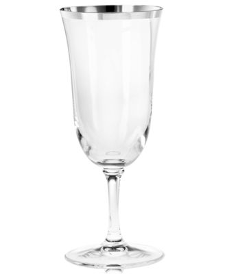 Vera Wang Wedgwood Classic Banded Platinum Iced Beverage Glass