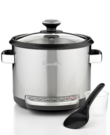 Breville BRC600XL Rice & Risotto Cooker, The Risotto Plus - Electrics ...