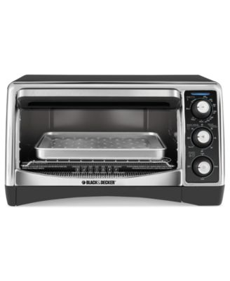 Black & Decker TO1640B Convection Oven, 6 Slice Toaster Oven