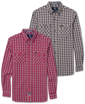 Rocawear Shirt Fresh To Death Plaid Shirt