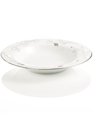 Charter Club Dinnerware, Grand Buffet Platinum Silhouette Rim Soup Bowl