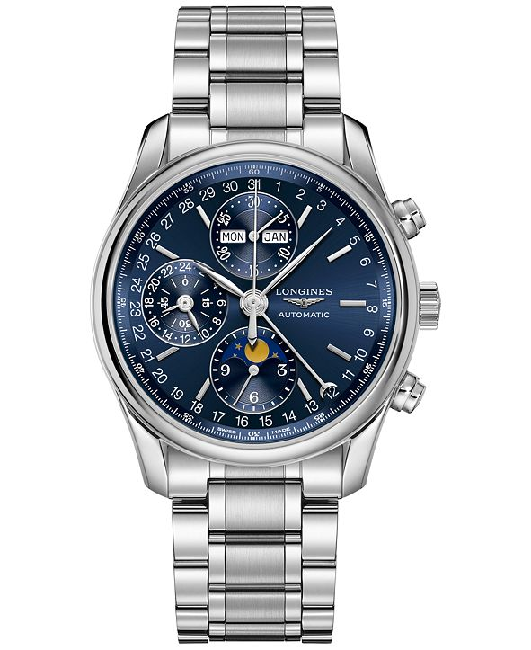 Longines Men's Swiss Automatic Master Stainless Steel Bracelet Watch 40mm