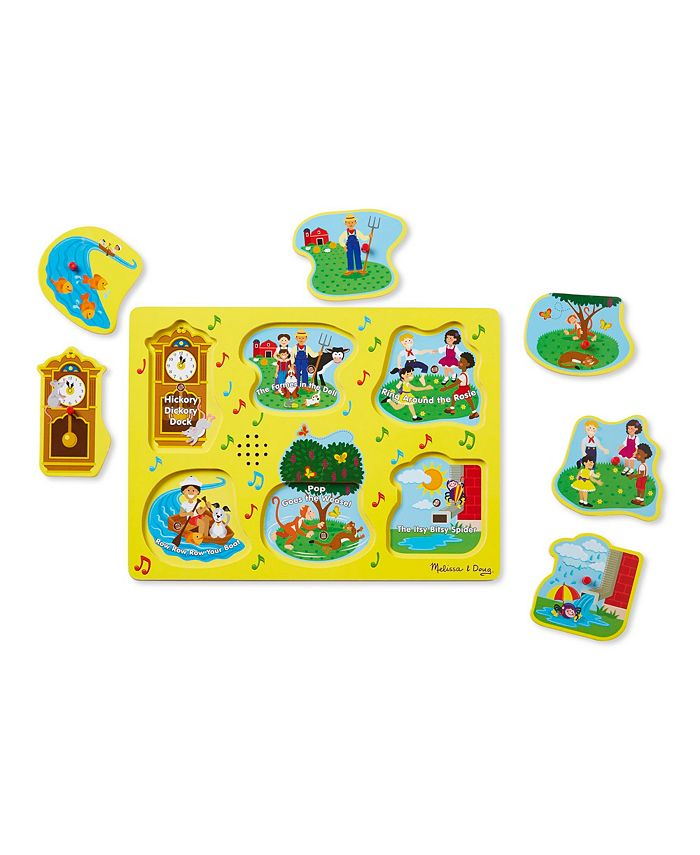 Melissa and Doug - Nursery Rhymes 1 - Sound Puzzle