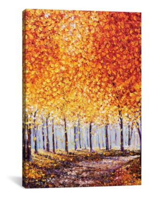 First Light by Kimberly Adams Wrapped Canvas Print - 40