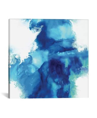 Ascending In Blue I by Daniela Hudson Wrapped Canvas Print - 18
